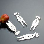 Happy Fruits Forks 4pcs