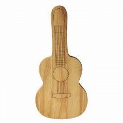 Wooden Chopping Board Guitar