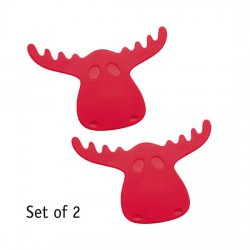 RUDOLF Coasters (set of 2) Koziol