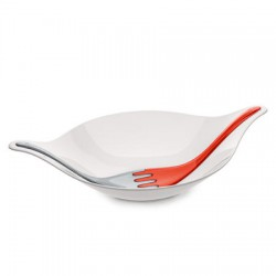 LEAF L+ Salad Bowl w/Servers Koziol