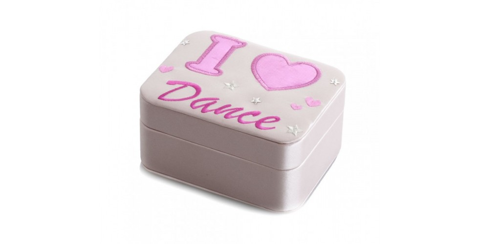 I love Dance jewelry Box