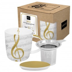 I Love Music Mug lid & strainer 0,35l