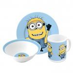 Despicable Me Snack Set Plate, Bowl & Mug