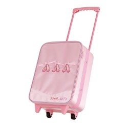 Satin Ballerina Trolley Bag