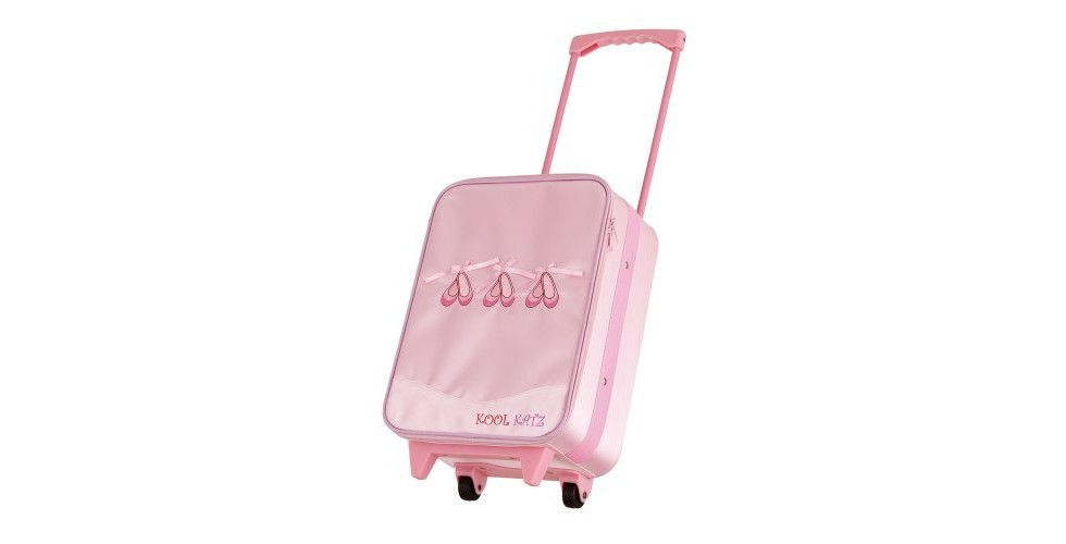 Satin Ballerina Trolley Bag