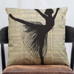 Ballerina pillow