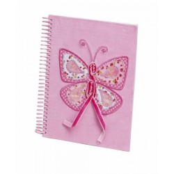 Butterfly Notebook Pink