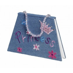 Denim Princess Note Book