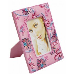 Pink Sequin photo frame