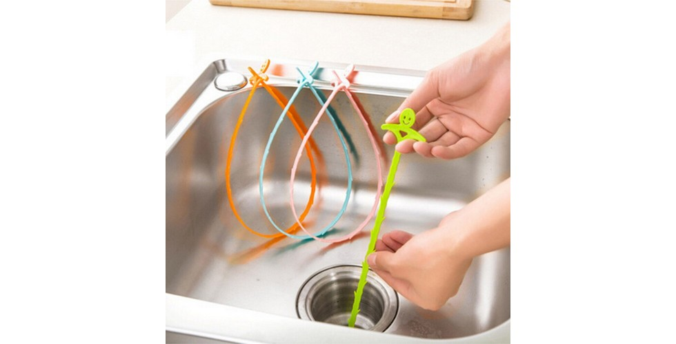 2pcs Sink Hair Filter Drain Cleaners
