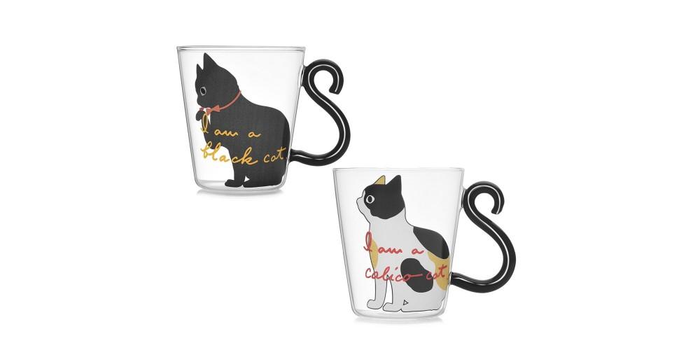 Lovely Cat Tail Handle Mug