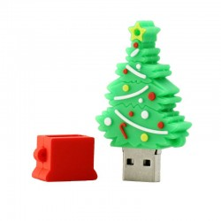 8GB Christmas Tree USB Flash Drive