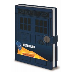 Doctor Who Premium A5 Notebook Tardis