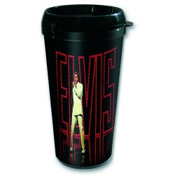 Elvis Presley Travel Mug In Lights