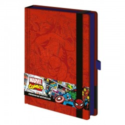 Marvel A5 Spiderman Premium Notebook