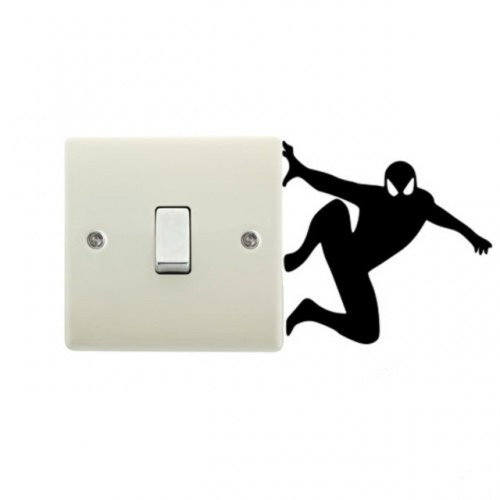 SPIDERMAN Light Switch Stickers