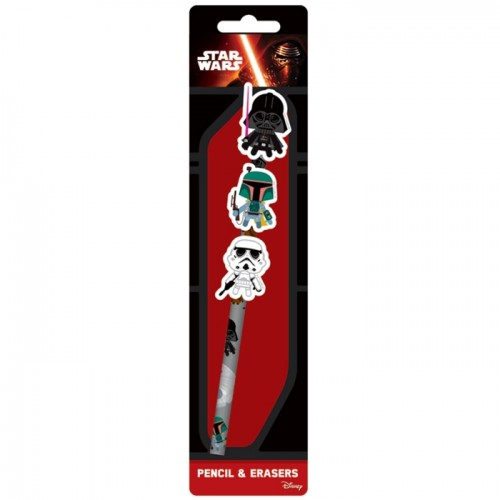 Star Wars Pencil Set Younger