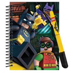 Lego Batman Mini Journal and Gel Pen Set