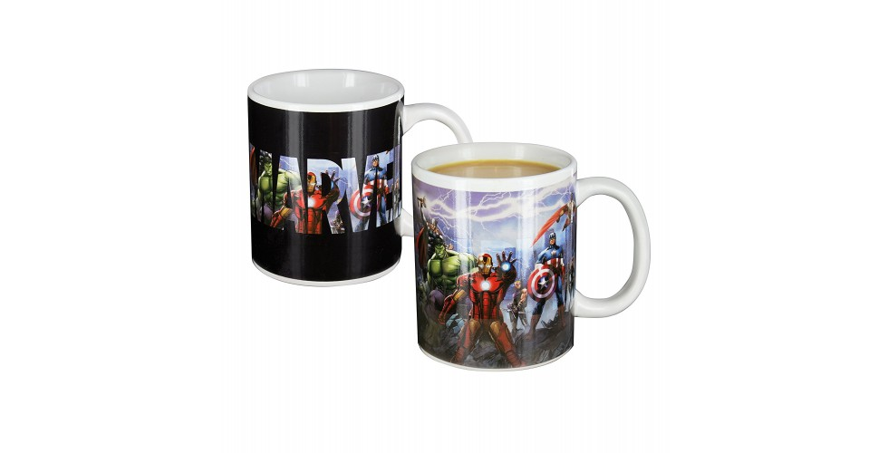 Marvel Boxed Mug Heat Change Avengers