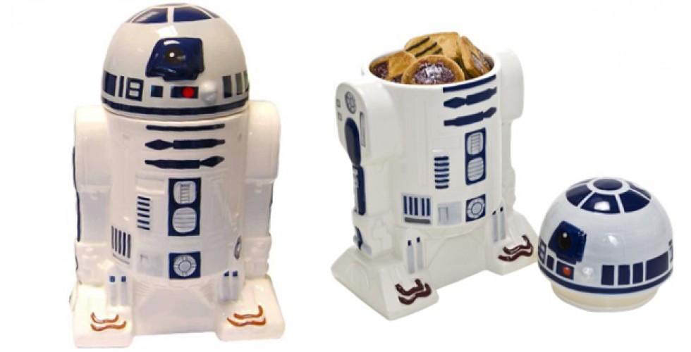 Star Wars Ceramic R2-D2 Cookie Jar