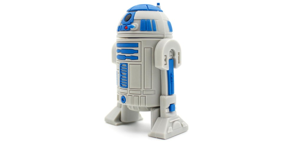8GB R2D2 Star Wars USB Flash Drive