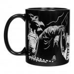 Batman Heat Change Mug Shadows