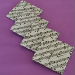 Decoupage Coasters (4pcs) Series Music Lover