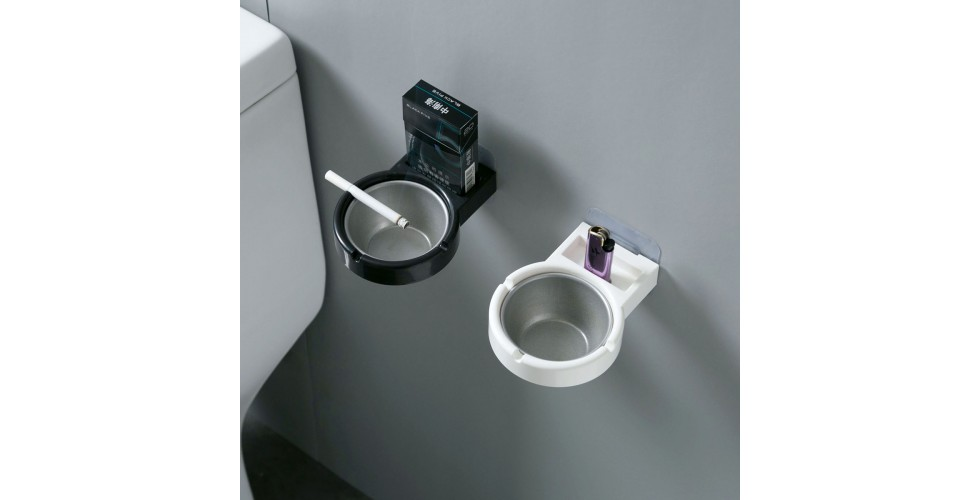 Stainless Wall Mounted Ashtray