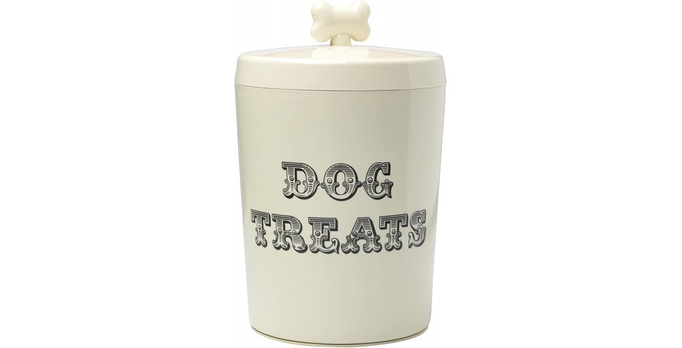 Country kitchen dog treat jar