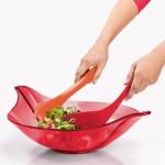 LEAF XL Salad Bowl w/Servers Koziol
