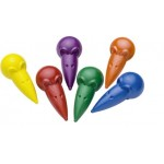 Mouse-shaped wax crayons