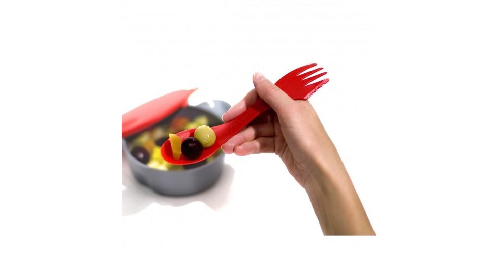 Spork Lefty RO - Knife, fork & spoon in one (pack of 2)