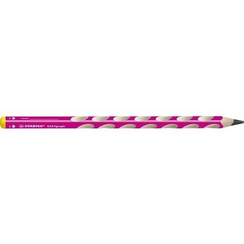 STABILO EASYgraph ergonomic pencil left handed Pink