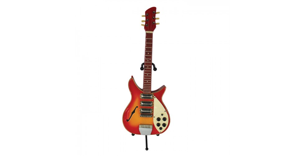 Money Box Guitar Rock Red