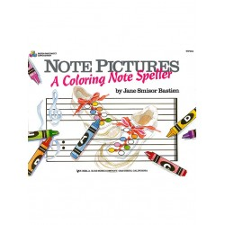 Note Pictures: A Coloring Note Speller