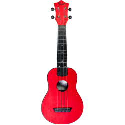 Flight: TUS35 ABS Travel Ukulele - Red