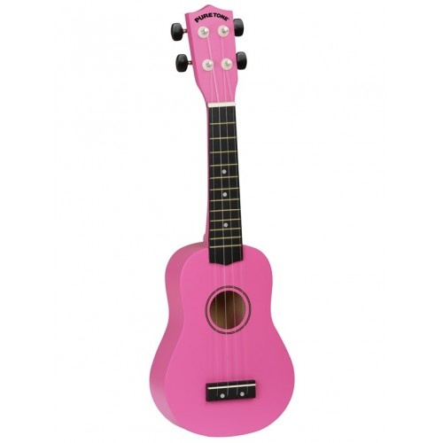 Pure Tone: Ukulele Pack (Hot Pink)