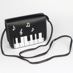 Piano Keys Shoulder Messenger Bag