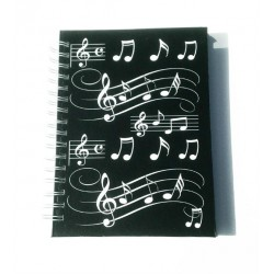 A6 Hardback Spiral Bound Notebook