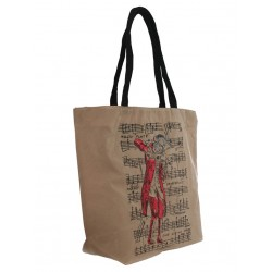 Shopping Bag: Mozart (beige)