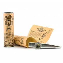 Clarke: Original Tin Kazoo - Silver Colour