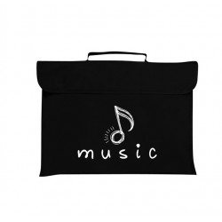 Mapac Music Bag Quaver (Black)