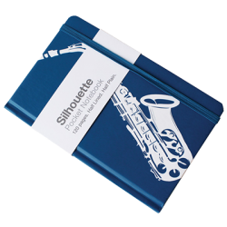 SAXOPHONE A6 Pocket Notebook