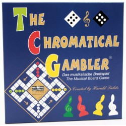 The chromatical Gambler - The Musical Board Game