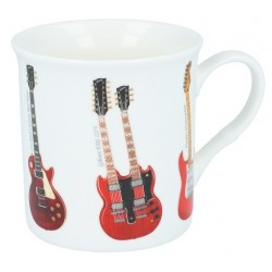Fine Bone China Guitar Mug 0.3 l