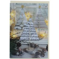 Fir Trees Greetings Card