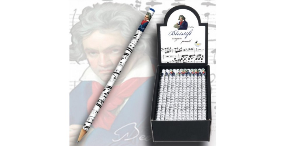 Pencils Beethoven (set of 2)