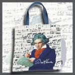 Art Bag, Cotton, Beethoven