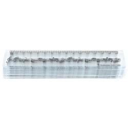 15cm Ruler Staves Clear