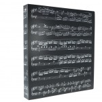 A4 Musical Notes 4-Ring Binder